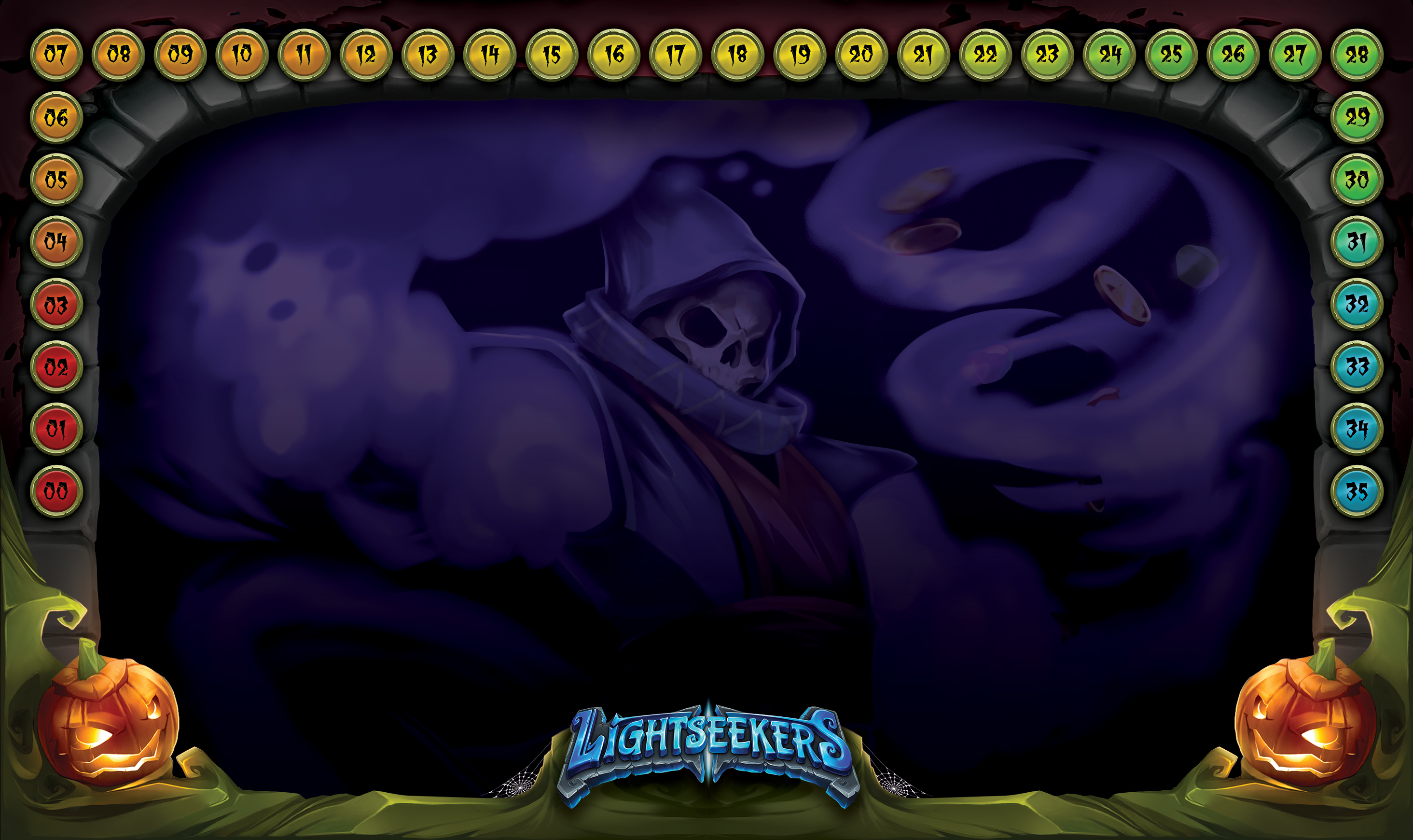 Halloween Organized Play Announcement Part 1 Lightseekers Cards